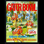 1974 Gator Bowl Auburn vs Texas College Football Program
