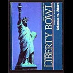1984 Liberty Bowl Arkansas vs Auburn College Football Program