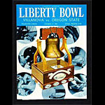 1962 Liberty Bowl Villanova vs Oregon State College Football Program