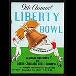 1967 Liberty Bowl Georgia vs North Carolina State College Football Program