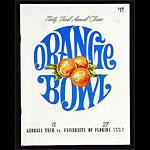 1967 Orange Bowl Georgia Tech vs Florida College Football Program