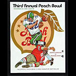 1970 Peach Bowl North Carolina vs Arizona State College Football Program