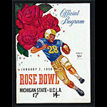 1956 Rose Bowl Michigan State vs UCLA College Football Program