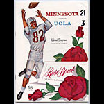 1962 Rose Bowl Minnesota vs UCLA College Football Program