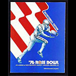 1976 Rose Bowl Program UCLA vs Ohio State College Football Program