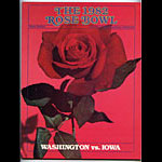 1982 Rose Bowl Washington vs Iowa College Football Program