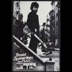 Bruce Springsteen Born To Run1980s bootleg printing Promo Poster