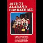 University of Alabama Crimson Tide 1976 - 1977 College Basketball Media Guide