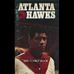 1976 - 1977 Hawks Basketball Media Guide