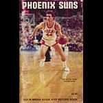 1977 - 1978 Suns Basketball Media Guide