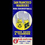 1966 - 1967 Warriors Basketball Media Guide