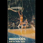 1978 - 1979 Warriors Basketball Media Guide