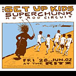 Casey Burns Get Up Kids Poster