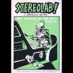 Casey Burns Stereolab Poster
