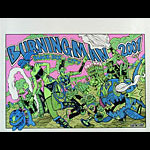 Jamie Burton Burning Man 2001 Poster