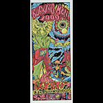 Jamie Burton Burning Man 1999 Poster