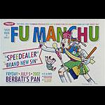 Guy Burwell Fu Manchu Poster