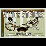 Guy Burwell White Stripes Poster