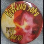 Killing Joke Fire Dances Button Pin