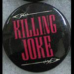 Killing Joke Button Pin