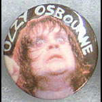 Ozzy Osbourne - Live Shot Button Pin