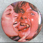 Ozzy Osbourne - Tongue Kiss Button Pin