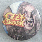 Ozzy Osbourne - Bark at the Moon Button Pin