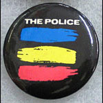 The Police Synchronicity Lapel Button Pin