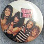 Quiet Riot Button Pin