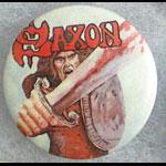 Saxon - s/t Album Button Pin