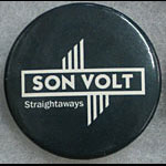 Son Volt Straightaways Button Pin
