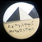 The Police Zenyatta Mondatta Button Pin