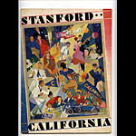 1928 Cal Stanford Big Game College Football Program
