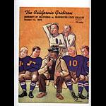 1940 Cal vs Washington State College Football Program