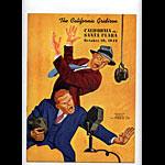 1942 Cal vs Santa Clara College Football Program