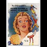 1949 Cal vs USC College Football Program