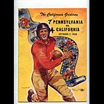 1950 Cal vs Pennsylvania College Football Program