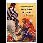 1951 Cal vs Santa Clara College Football Program