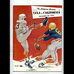 1954 Cal vs UCLA College Football Program