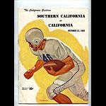 1955 Cal vs USC College Football Program