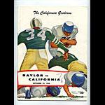 1956 Cal vs Baylor College Football Program