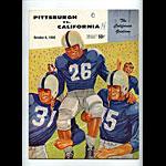 1956 Cal vs Pittsburgh College Football Program