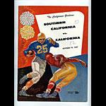 1957 Cal vs USC College Football Program