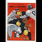 1960 Cal vs Army College Football Program