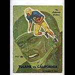 1960 Cal vs Tulane College Football Program
