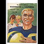 1963 Cal vs Washington College Football Program