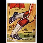 1964 Cal vs Minnesota College Football Program