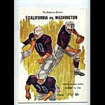 1965 Cal vs Washington College Football Program