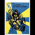 1967 Cal vs Air Force College Football Program