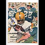 1967 Cal vs Oregon College Football Program
